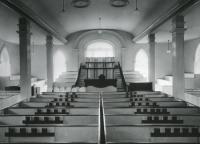 Kirtland temple interior